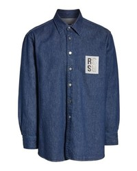 Raf Simons Carry Over Denim Shirt