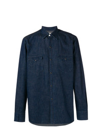 Bagutta Chest Pocket Denim Shirt
