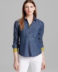 Eileen Fisher Classic Chambray Shirt