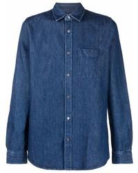 Eleventy Classic Denim Shirt