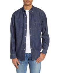 J.Crew Classic Fit Lightweight Denim Sport Shirt