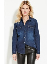Forever 21 Contemporary Classic Denim Shirt