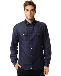 fb4e7c0c9d Acid Wash Denim Sportshirt Out of stock · Buffalo David Bitton Contrast  Collar Indigo Shirt