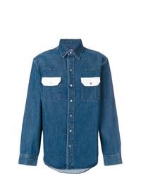 Calvin Klein Jeans Contrast Pocket Denim Shirt