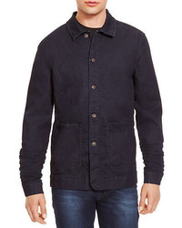 Kenneth Cole New York Denim Barn Shirt Jacket