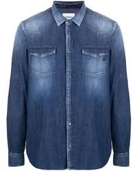 Dondup Denim Button Down Shirt