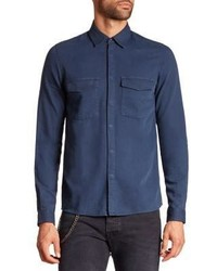 The Kooples Denim Button Down Shirt