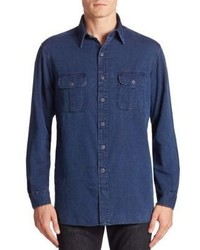 Polo Ralph Lauren Denim Casual Button Down Shirt