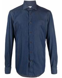 Etro Denim Cotton Shirt