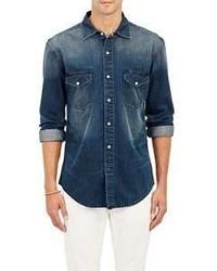 Earnest Sewn Denim Irving Shirt Blue