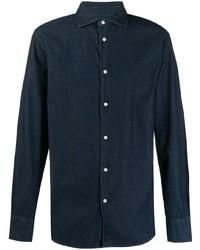 Deperlu Denim Long Sleeve Shirt