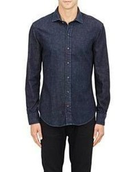 Ralph Lauren Black Label Denim Shirt Blue Size Na