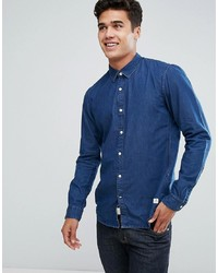 Tom Tailor Denim Shirt In Slim Fit