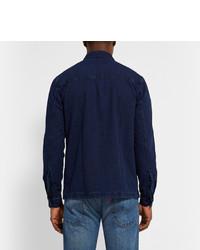 Folk Denim Shirt Jacket