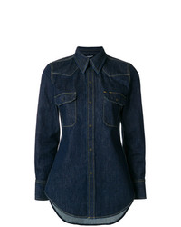Calvin Klein 205W39nyc Fitted Denim Shirt