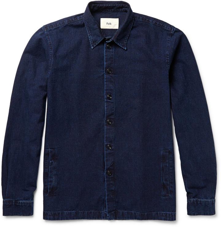 Folk Denim Shirt Jacket | Where to buy & how to wear