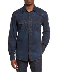 Garth denim western shirt medium 3685173