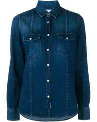 Golden Goose Deluxe Brand Indigo Denim Shirt