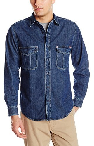 69a98dd207 Woolrich Hemlock Denim Shirt, $24 | Amazon.com | Lookastic.com