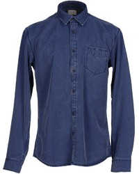 Selected Homme Denim Shirts