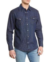 Wrangler Icons Denim Western Shirt