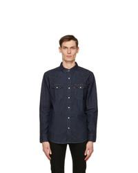 Levis Indigo Denim Barstow Western Shirt