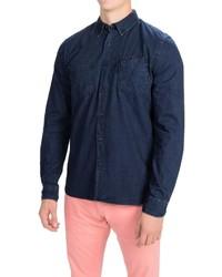 Barbour International Lampkin Denim Shirt Slim Fit Long Sleeve