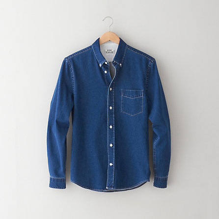 89d62c4ba59 Isherwood Denim Shirt. Navy Denim Shirt by Acne Studios