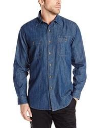Dickies Long Sleeve Denim Shirt