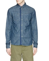 Scotch & Soda Mr Blue Denim Shirt