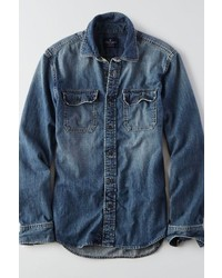 385dcc7b Men's Denim Shirts by American Eagle Outfitters | Men's Fashion ...