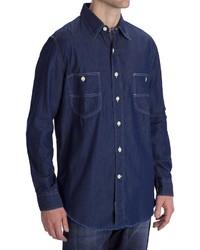 Options Indigo Denim Shirt