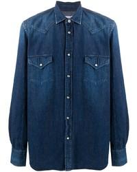 Jacob Cohen Panelled Yoke Denim Shirt