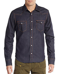 PRPS Denim Western Shirt