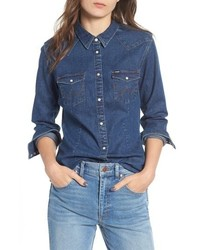WRANGLE R Western Denim Shirt