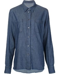 Raquel Allegra Denim Pocket Shirt