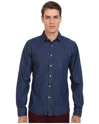 Gant Rugger R Indigo Denim Town Collar
