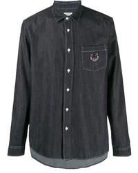 Kenzo Signature Denim Shirt