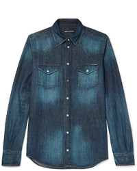 Slim fit denim shirt medium 1161006
