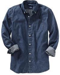Old Navy Slim Fit Denim Shirts