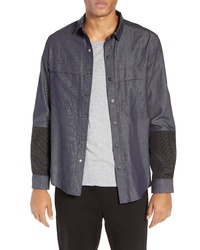 River Stone Snap Denim Shirt