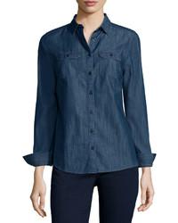 St Johns Bay St Johns Bay 2 Pocket Classic Shirt