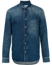 Kent & Curwen Stonewashed Denim Shirt