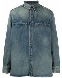 Givenchy Straight Fit Denim Shirt