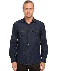 Mavi Jeans Teo Denim Shirt In Rinse