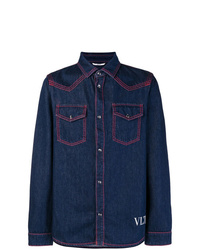 Valentino Vltn Denim Shirt
