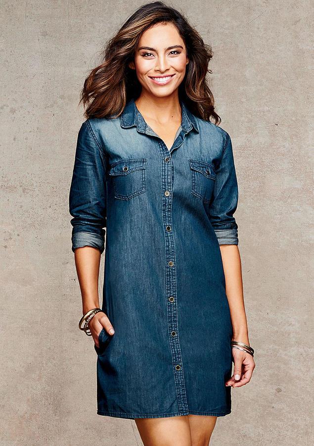 b59a383c1d Alloy Spoon Jeans Addy Denim Shirt Dress