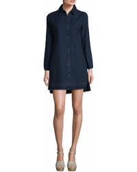J Brand Bacall Shirt Dress