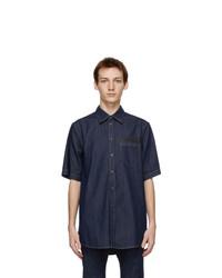 DSQUARED2 Indigo Pocket Daddy Shirt