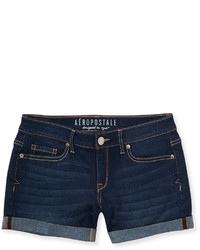 Women's Navy Denim Shorts from Aeropostale | Women's Fashion